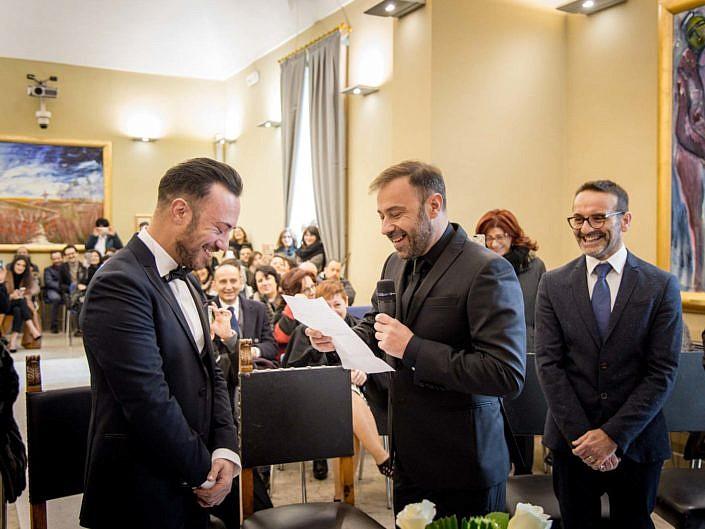 Peppe Catone Matrimonio Giovanni e Mirko